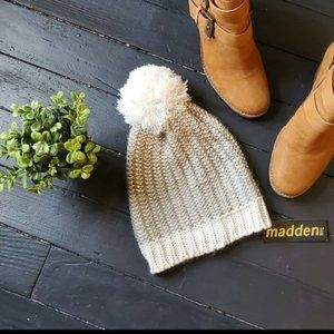 NWT New York Madden Knitted Beenie